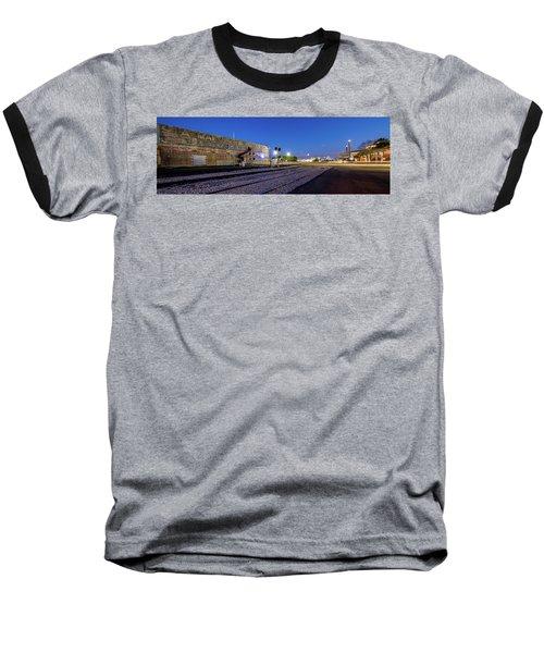 Old Wall Signage - San Antonio  Baseball T-Shirt