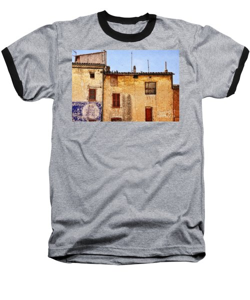Old Walls In Provence Baseball T-Shirt
