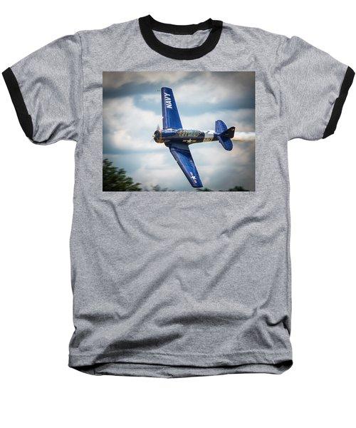 Old Warbird Trainer Baseball T-Shirt