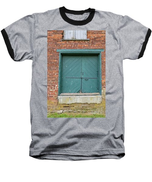 Old Warehouse Loading Door Baseball T-Shirt