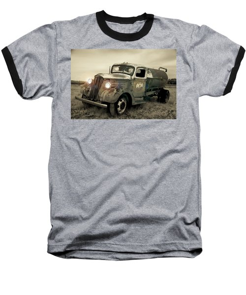 Old Water Truck Baseball T-Shirt