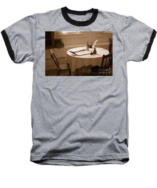 Old Way Of Life Series - Home Office Baseball T-Shirt