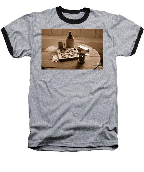 Old Way Of Life Series - Past Time Baseball T-Shirt