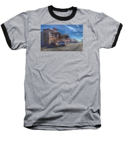 Baseball T-Shirt featuring the photograph Old Western Town by Deborah Klubertanz