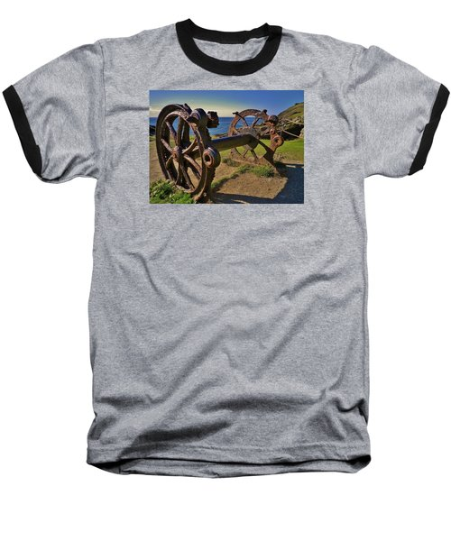 Old Winch Tintagel Baseball T-Shirt