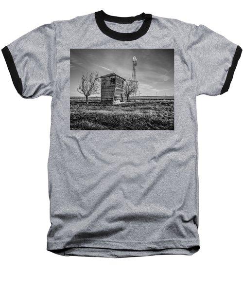 Old Windpump Baseball T-Shirt