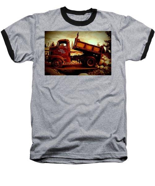 Old Work Horse Baseball T-Shirt
