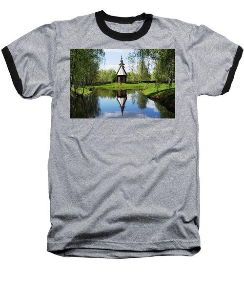 Old World Church Baseball T-Shirt