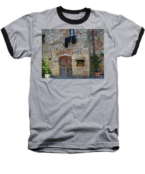 Old World Door Baseball T-Shirt