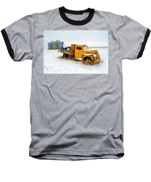 Old Yellow Baseball T-Shirt