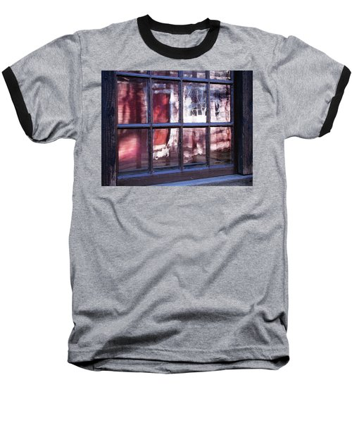 Olde Glass Baseball T-Shirt by Betsy Zimmerli