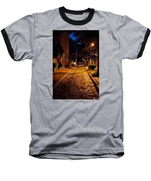 Olde Town Philly Alley Baseball T-Shirt by Mark Dodd