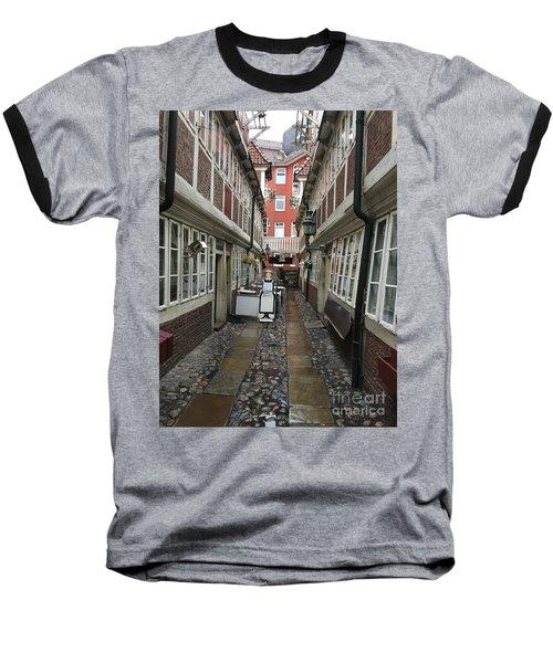 Krameramtsstuben The Oldest Street In Hamburg Germany Baseball T-Shirt