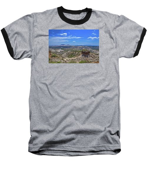 Baseball T-Shirt featuring the photograph Olduvai Gorge - The Cradle Of Mankind by Pravine Chester