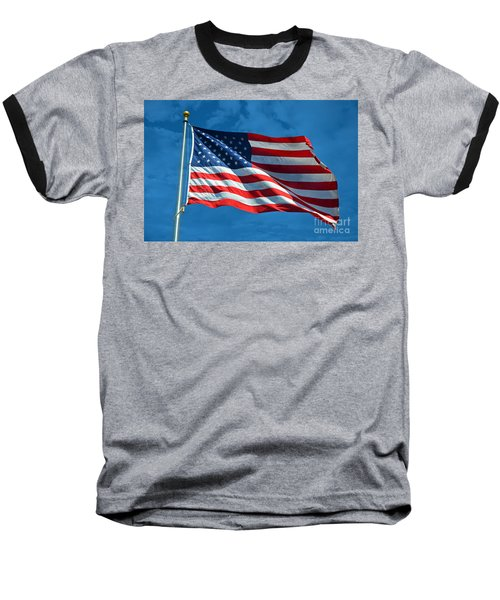 Ole Glory Baseball T-Shirt