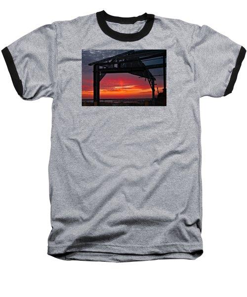 Ole Shipyard Framing Baseball T-Shirt