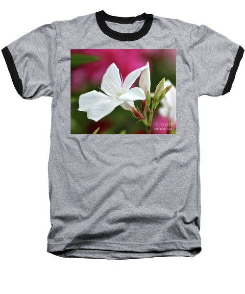 Baseball T-Shirt featuring the photograph Oleander Casablanca 2 by Wilhelm Hufnagl