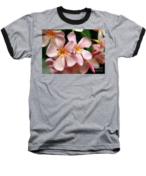 Baseball T-Shirt featuring the photograph Oleander Dr. Ragioneri 2 by Wilhelm Hufnagl