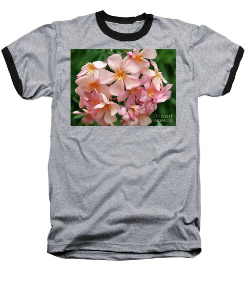 Baseball T-Shirt featuring the photograph Oleander Dr. Ragioneri 3 by Wilhelm Hufnagl