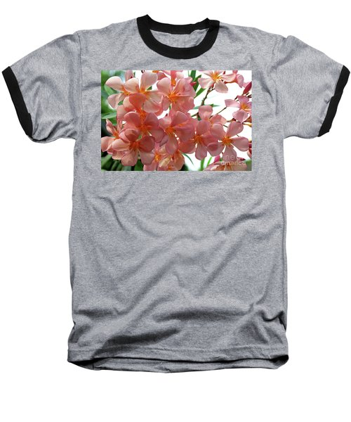 Baseball T-Shirt featuring the photograph Oleander Dr. Ragioneri 4 by Wilhelm Hufnagl