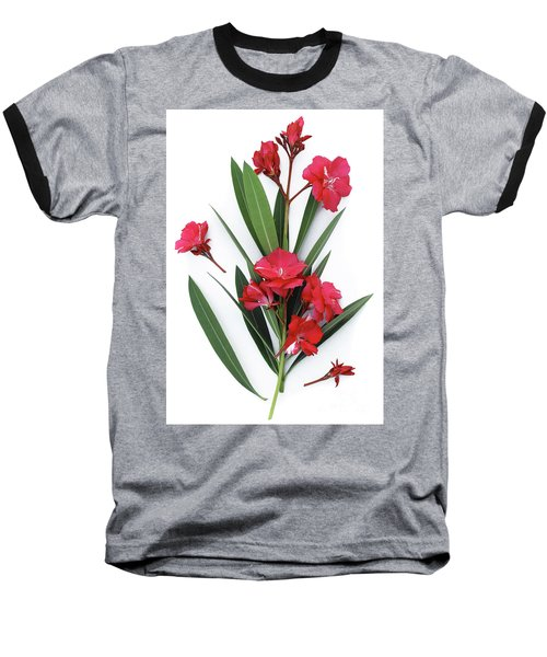 Baseball T-Shirt featuring the photograph Oleander Geant Des Batailles 2 by Wilhelm Hufnagl