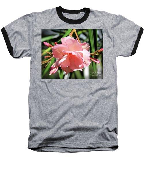 Oleander Mrs. Roeding 3 Baseball T-Shirt
