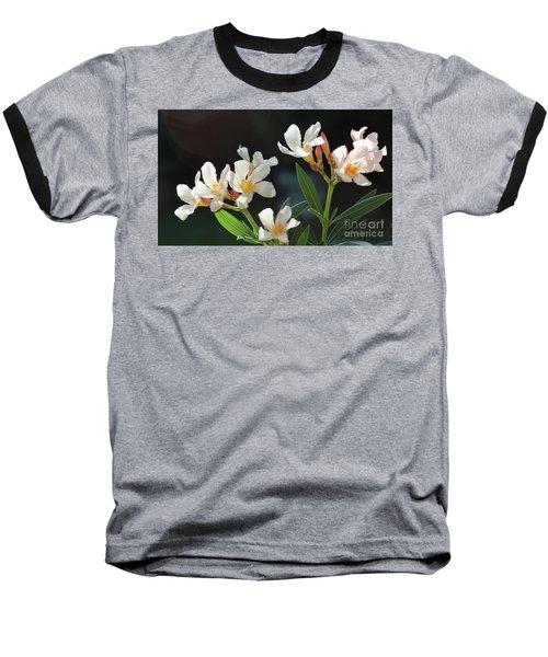 Oleander Petite Salmon 2 Baseball T-Shirt