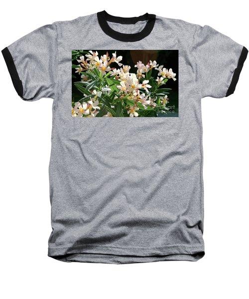 Oleander Petite Salmon 3 Baseball T-Shirt