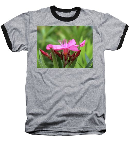Baseball T-Shirt featuring the photograph Oleander Professor Parlatore 1 by Wilhelm Hufnagl