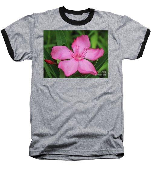 Oleander Professor Parlatore 2 Baseball T-Shirt by Wilhelm Hufnagl