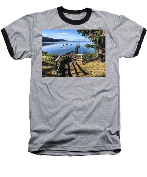 Olga Pier Baseball T-Shirt by William Wyckoff