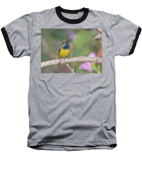 Olive-backed Sunbird Baseball T-Shirt