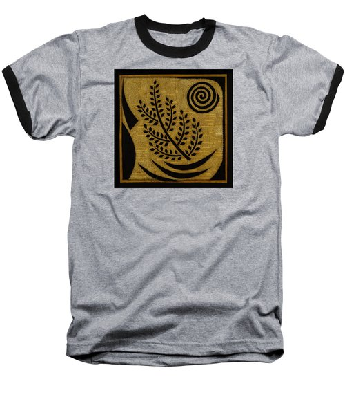 Olive Branch Baseball T-Shirt by Gloria Rothrock
