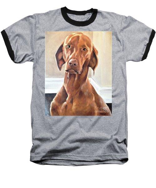 Oliver Baseball T-Shirt by Diane Daigle