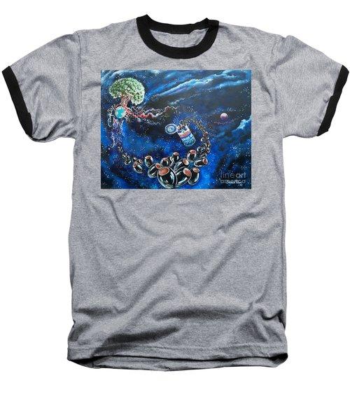 Blaa Kattproduksjoner          Oliveus Are Canned Together Baseball T-Shirt