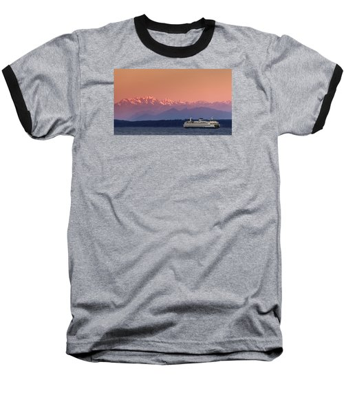 Baseball T-Shirt featuring the photograph Olympic Journey by Dan Mihai