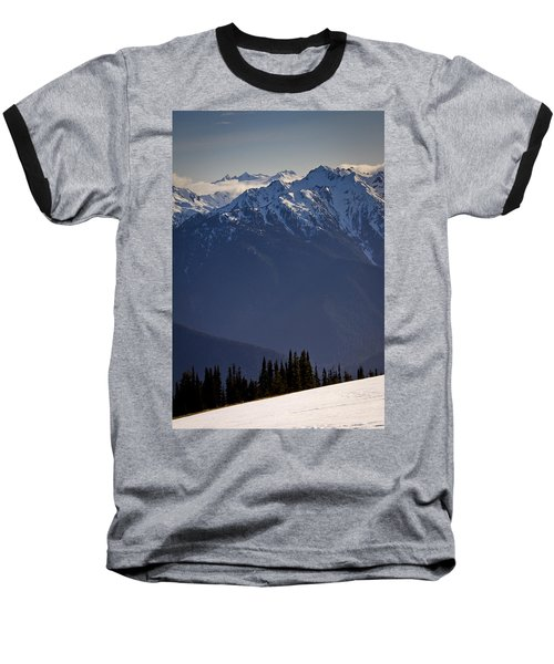 Olympic National Park Baseball T-Shirt