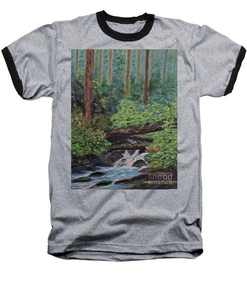 Olympic National Park Baseball T-Shirt