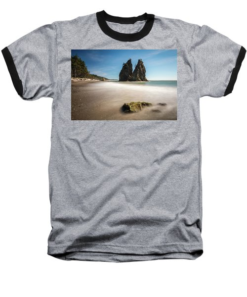 Baseball T-Shirt featuring the photograph Olympic Shoreline by Pierre Leclerc Photography