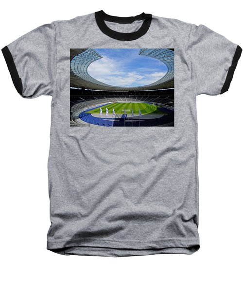 Olympic Stadium Berlin Baseball T-Shirt