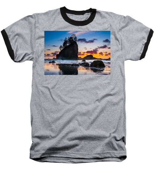Olympic Sunset Baseball T-Shirt