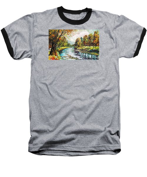 Olza River Baseball T-Shirt