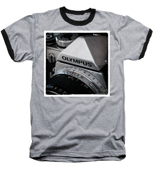 Baseball T-Shirt featuring the photograph Om-1 - D010028b by Daniel Dempster