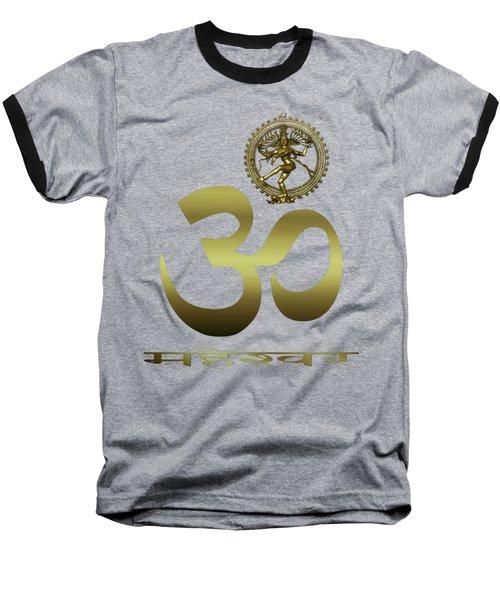 Om Shiva Baseball T-Shirt