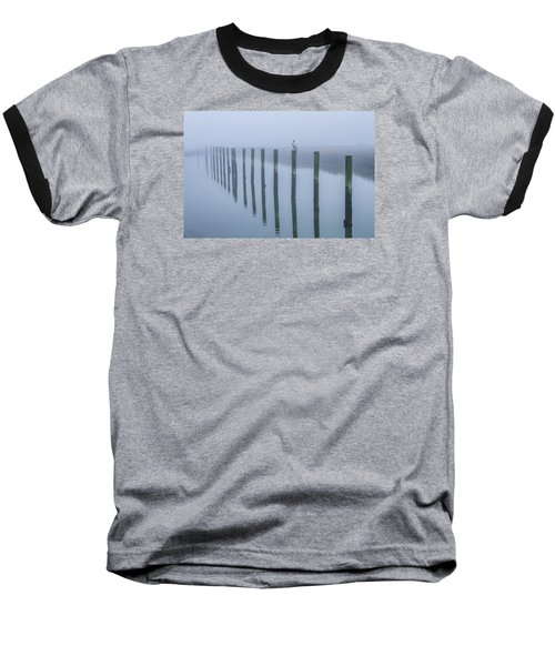 On The Pole Baseball T-Shirt by Menachem Ganon