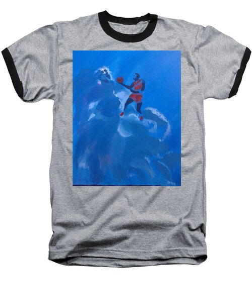 Omaggio A Michael Jordan Baseball T-Shirt
