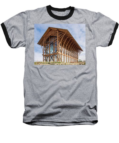 Omaha Holy Family Shrine 3 Baseball T-Shirt