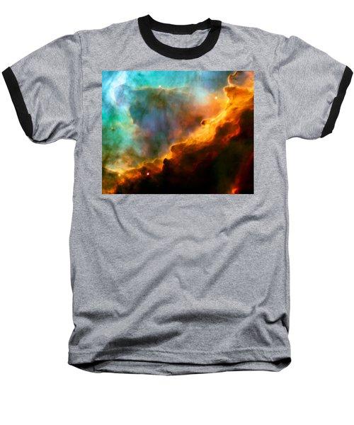 Omega Swan Nebula 3 Baseball T-Shirt