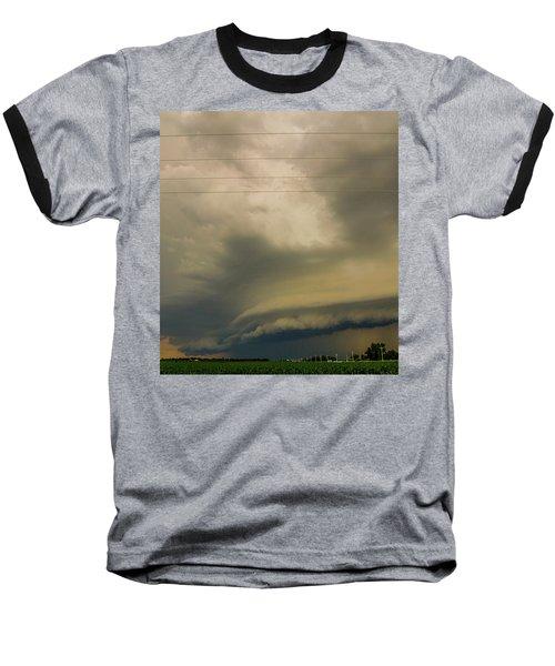 Ominous Nebraska Outflow 007 Baseball T-Shirt