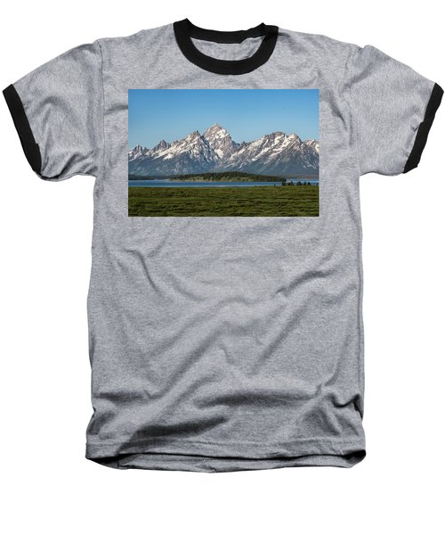 On A Clear Day Baseball T-Shirt by Jan Davies